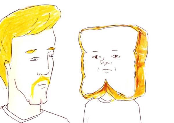 吐司剪完頭髮會撞臉金正恩?超搞笑幽默擬人插畫,原來保齡球與球瓶的日常是一直在道歉!