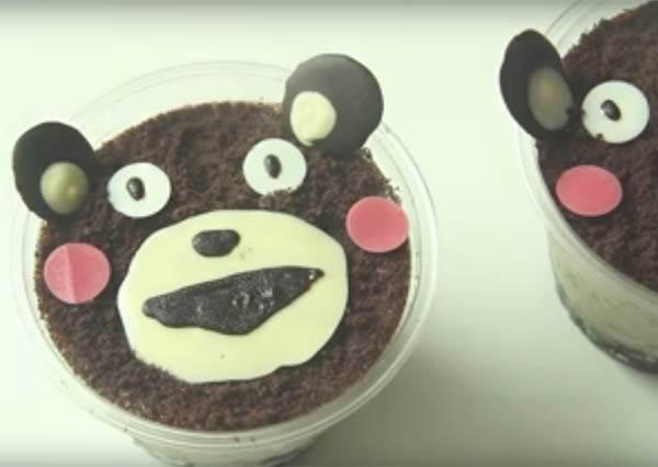 外貌協會的妳看過來! 超萌「熊本熊Oreo起司蛋糕」不需烤箱也能容易上手