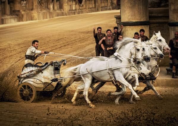 無法超越的經典! 睽違40年賓漢再翻拍,戰馬競速玩真的! 毫無冷場絕對讓你捏把冷汗!
