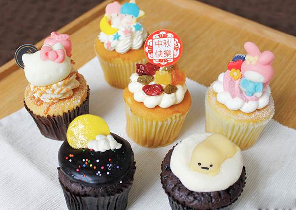 這種可愛造型「杯子蛋糕」才有記憶點呀!想不到三麗鷗全系列在台灣就吃得到?