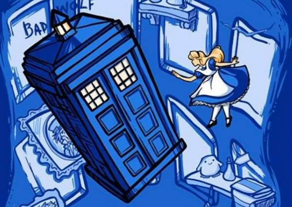 結局大扭轉!「藍色警察亭」亂入迪士尼公主們劇情,讓花木蘭進去後就不去打仗了?
