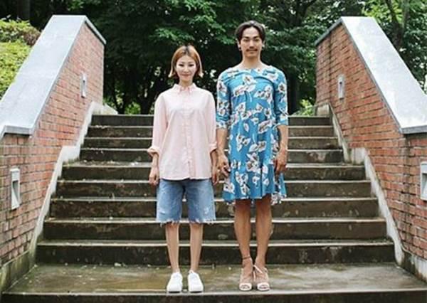 歡迎大家來找碴?韓國有趣夫妻的換衣日記,第4組照片的歐霸也太性感!