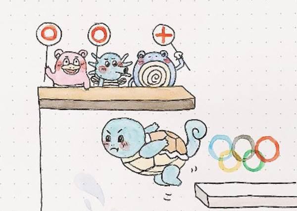 奧運精彩幕後花絮?!參加跳高比賽最佳人選果然是鯉魚王啊?