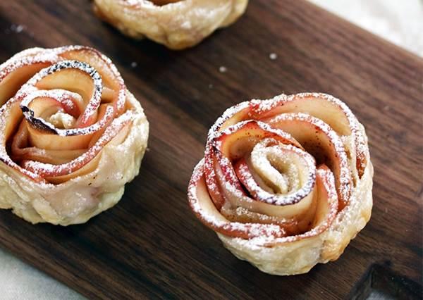 端出來絕對能唬人! 準備難度一顆星的「玫瑰花蘋果派」其實5種材料就能做
