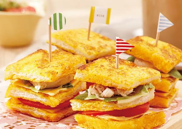 把砂糖換成另一味! 減糖版「雞肉番茄法式吐司」步驟不變但健康多很多