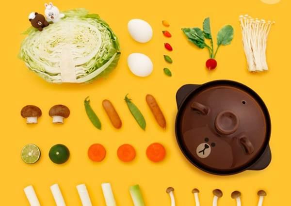 【日本最近推出Sanrio還有line明星們的可愛精品還有餐具鍋具組!】 有夠可愛 , 好想收集全套喔 ~~!
