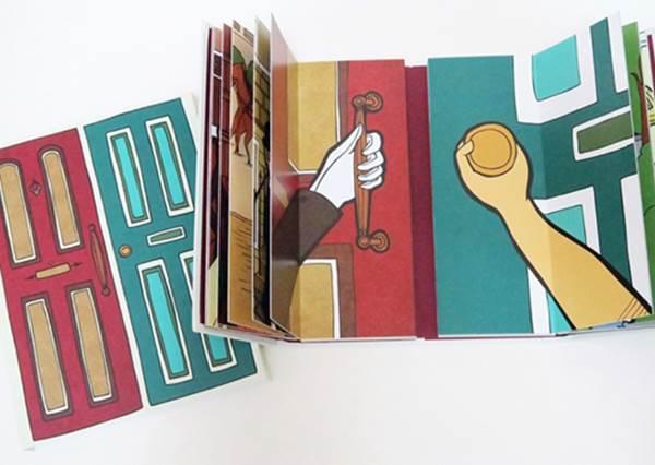 每個人看到的都不一樣?插畫立體書《兩扇門》不同時空背景對比,每翻一頁都是驚奇!