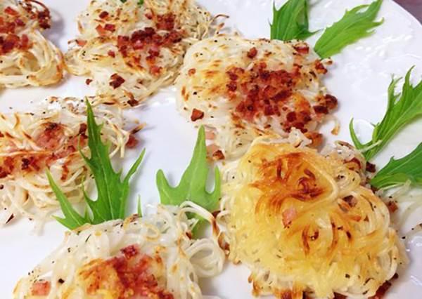 麵線煮太多也能輕鬆救!超唰嘴的「酥脆麵線起司燒」4步驟極簡單作法
