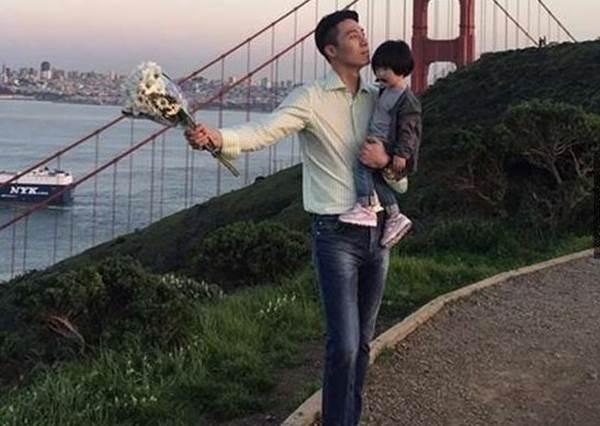 媽媽看到第六張都要吃醋了!韓國「超萌身高差父女檔」生活照,女兒果然是上輩子的情人啊!
