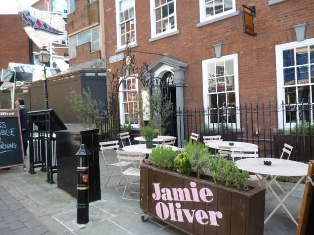 Jamie's Italian英國諾丁漢店搶先吃