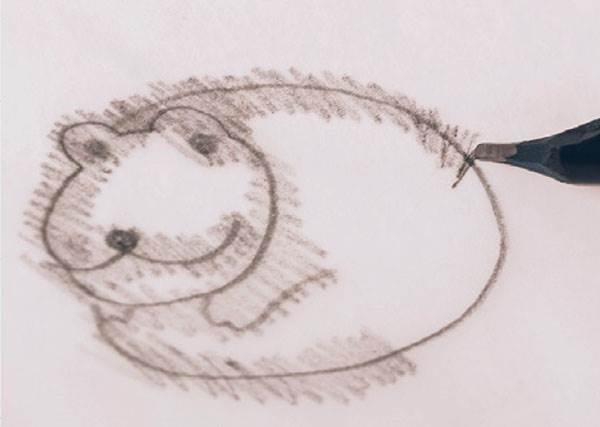 """原來""""草稿轉印""""不用選特黑的筆畫?插畫家揭曉一次就能成功的祕訣"""