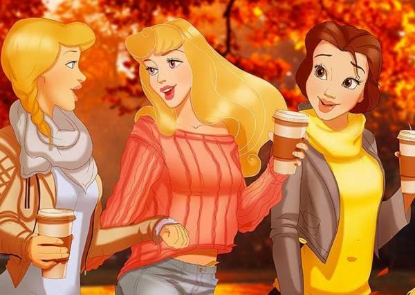 愛麗絲竟也知道這季節要穿UGG長靴?迪士尼公主們的秋天日常大公開!