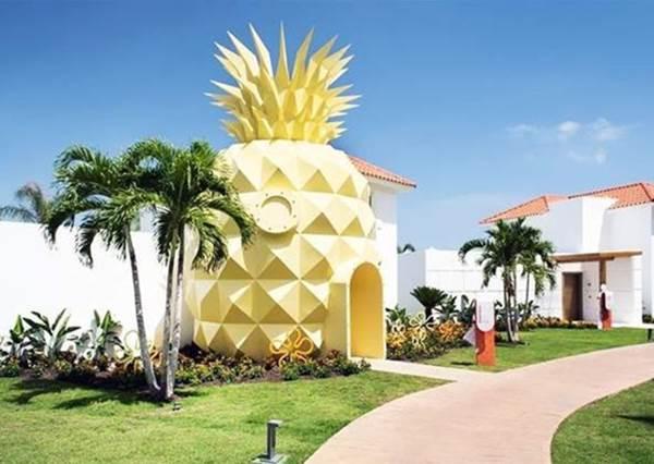 【全球唯一海綿寶寶旅館在多明尼加 !】哇 ! 聽說旅館裡面和卡通場景根本長一樣~海綿寶寶迷們一定好想住看看~~!