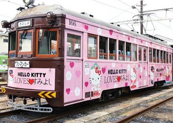 超萌的「史努比&凱蒂貓列車」只有在這裡搭的到!卡通鐵道限定:集章還可換限量桌曆!