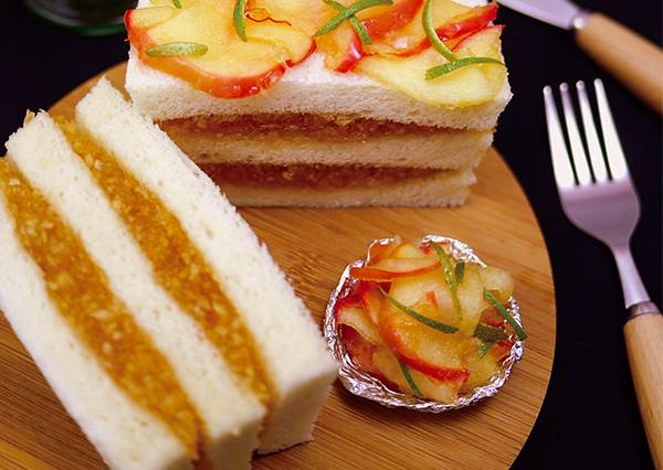 蘋果先浸泡這個就能預防變色?在家簡單DIY「肉桂蘋果三明治」,內餡學會自己換