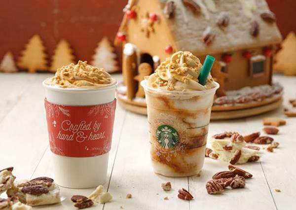 """星巴克聖誕節口味搶先看!但最吸睛的不是飲品,而是附贈的獨家設計""""餐墊""""啊!"""