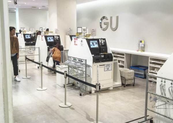 日本GU的自助式收銀機也太高科技! 還有人說就像「哆啦A夢的道具」?