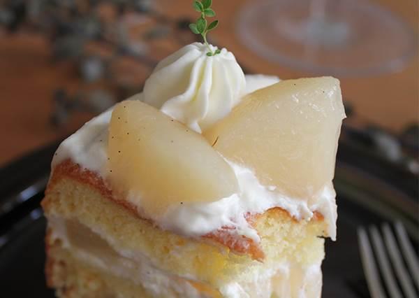不會太軟爛又有戀愛fu的「白酒甜桃蛋糕」!圖文詳細食譜公開,想不到困難度是0