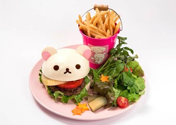 【甜心熊有備而來! 東京涉谷有期間限定的甜心熊主題餐廳】 不要小看配角, 配角也有出頭天阿~XD!