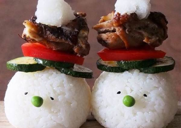 """這個可以和小菜合體,@nzngram做的""""吉祥物飯糰""""4什麼⋯⋯"""