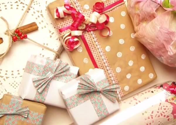 【超簡單包裝技巧讓你10秒成功!】聖誕快到了,學會這技巧真的是非常實用啊!