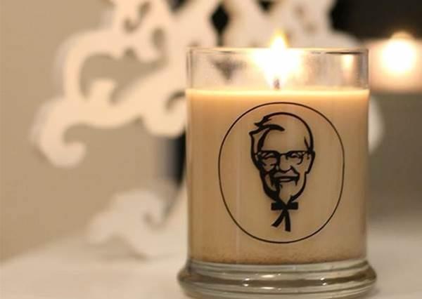 【肯德基又要讓大家嚇一跳了~!這次推出炸雞蠟燭!】光用聞的不用吃,會因此變得比較瘦嗎? !