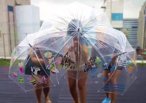 3種創意TIPS讓透明雨傘變獨一無二,從此再也不怕被拿錯!
